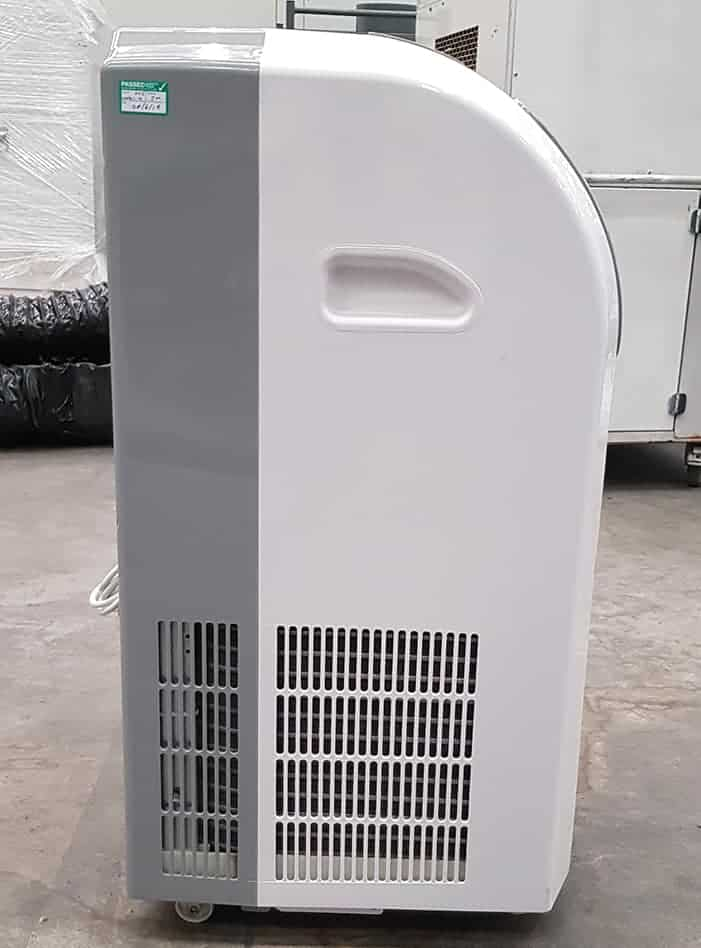CoolAir 14 portable air conditioning unit - side view