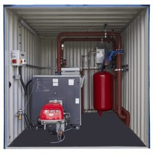 600kW Boiler Containerised