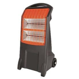 Infrared radiant heater spot heating heater hire