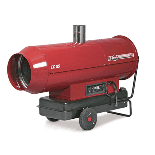 Red Star 85 Oil Fired Indirect Heater hire cross hire services