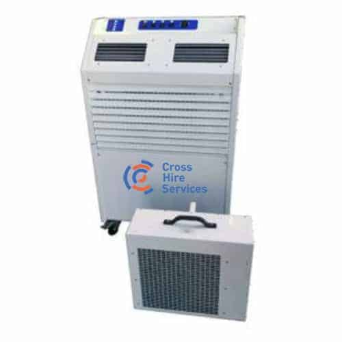 pac 25b split-type portable air conditioning