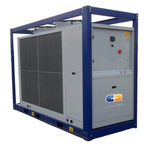 Product: 160Kw Portable Chiller available to hire