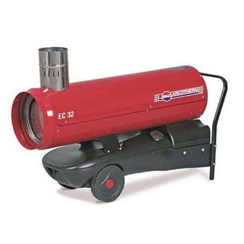 Red Star 30 oil fired heater cross hire services