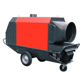 Radial 200 High Output Indirect oil fired Heater Hire