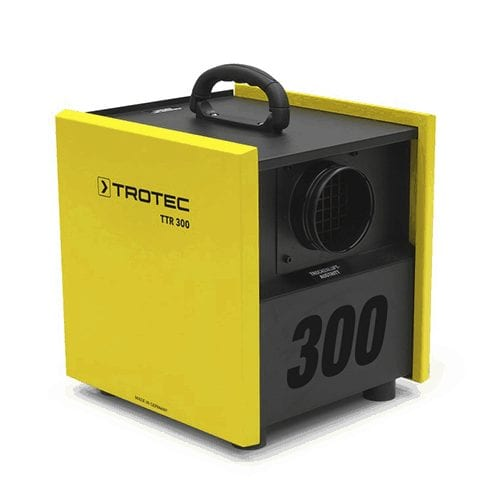 Trotec TTR 300 Dehumidifier desiccant hire rent from cross hire services