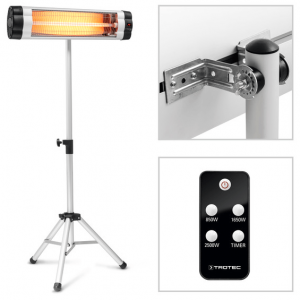 Patio Heater IR 2550 S