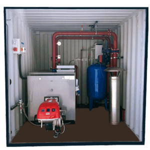 250kW Boiler Containerised